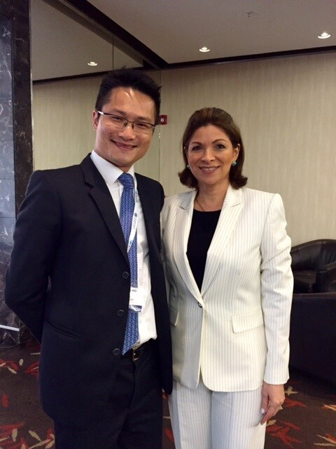 """Haldnaes Panama Papers1 - """"Panama Papers"""": Felix Ng was a speaker at Transnational Crime Conference in Panama"""