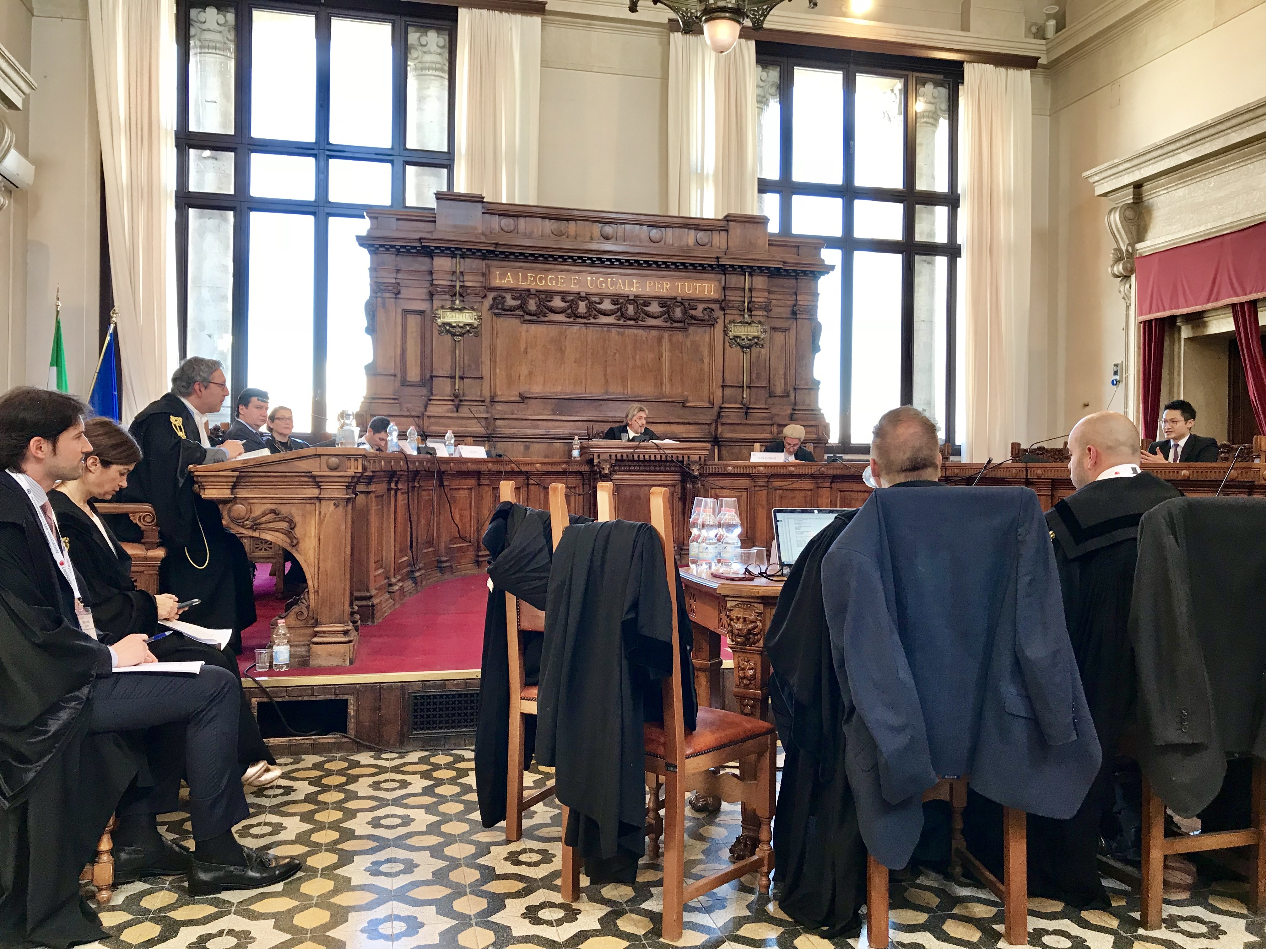 IBA Rome Mock Trial Court Room - 最新消息