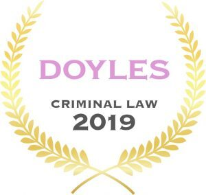 """No Ranking Crime 2019 300x284 - Doyle's Guide 2019 - """"Leading Criminal Defence Law Firm"""" & """"Leading Family & Divorce Law Firm"""""""
