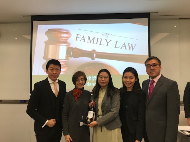 Manulife seminar 4 - Matrimonial and family law team gives seminar to Manulife staff on cross border divorce cases