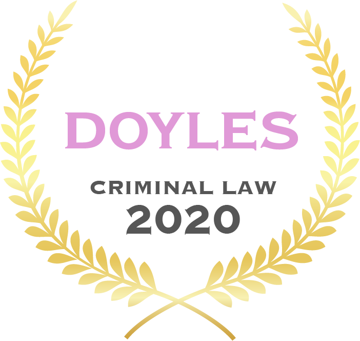 Doyles 2020 Criminal Law - Doyle's Guide 2020 – Leading Criminal Law and Family & Divorce Law Firm