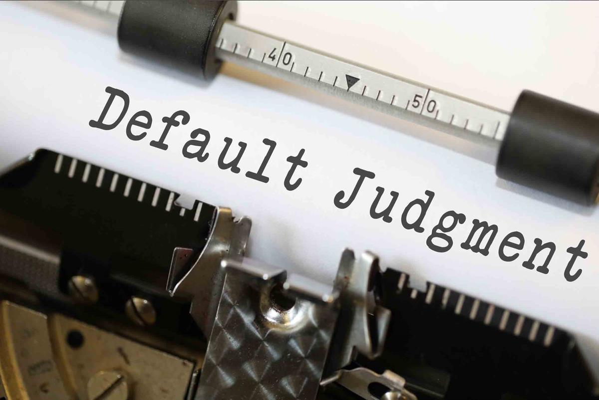 default judgment - News & Publications